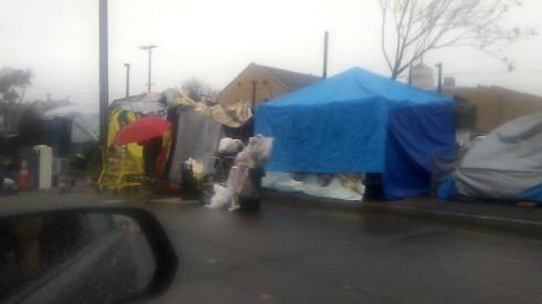 tent city pomona